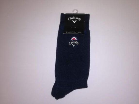 ゴルフ用キャロウェイの靴下